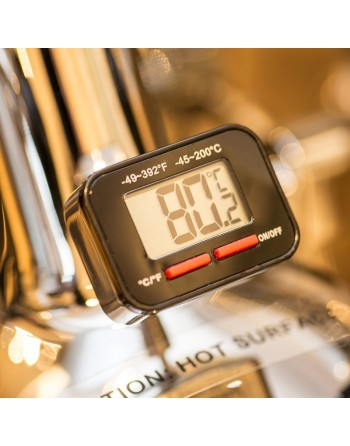 Brew group thermometer stainless steel